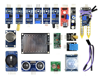 WINGONEER 16pcs/lot Sensor Module Board Kit for Arduino