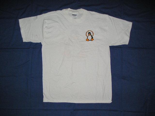 Lato frontale della T-Shirt Penguin Power